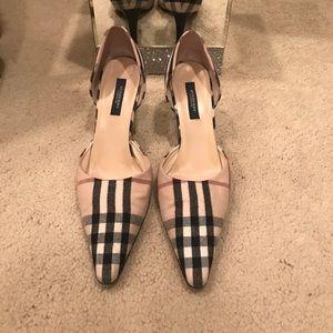 Burberry heels