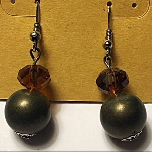 Jewelry - Bronze earrings bon bon