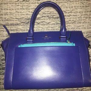 Kate Spade Bernadine Hadley Street Handbag blue