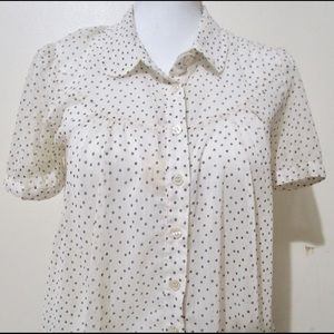 Anthropologie TWO OF US women's blouse size XS