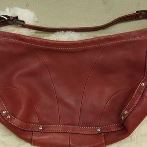 NWOT genuine leather Fossil handbag