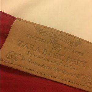 Zara Red Pants
