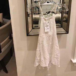 Zara blouse white NWT