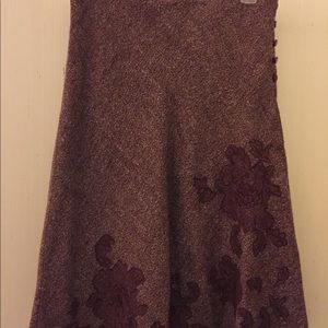 Maroon Express skirt size 5/6