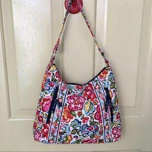 Vera Bradly Floral Print Hand Bag.