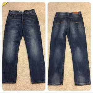 Zara jeans - high waisted and drop crotch