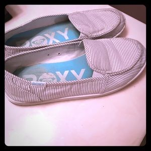 Slip on shoes- Roxy brand Women's size 8