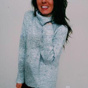 NWT H&M oversized gray sweater | M