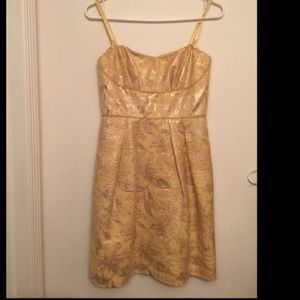 BCBG gold yellow authentic brand new without tags