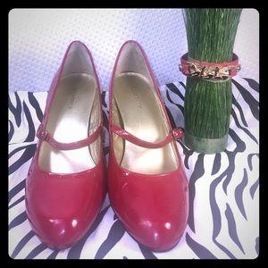 Liz Claiborne size 10- sexy red hot heels 👠