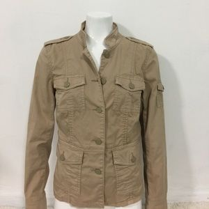 TORY BURCH Jacket Women's Beige Size Medium M
