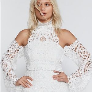 Olympia Lace Bodycon Dress by Free People