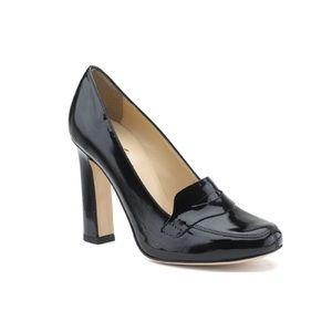 Kate Spade Jolene Patent Leather Loafer Pumps