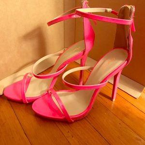 Qupid pink stilettos