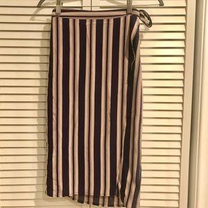 UO Ecote Wrap Tie Skirt