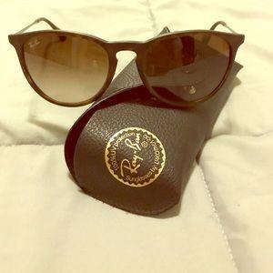 Ray-Ban Erika Brown sunglasses