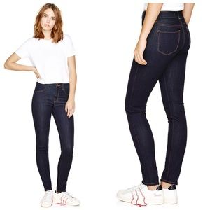 J Brand Starless Maria High Rise Blue Jeans