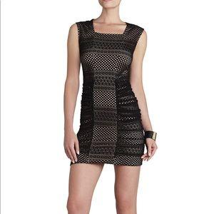 BCBGMAXAZRIA black lace Renee dress!