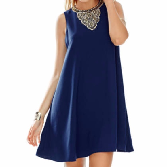 "Lilly Pulitzer Dresses & Skirts - NWT Lilly Pulitzer ""Mimi"" true navy dress"