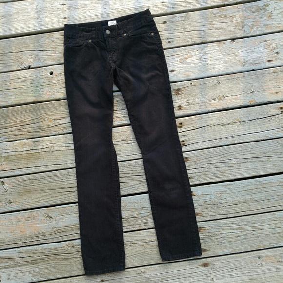 5e341363484 H M Pants - LOGG H M Black Skinny Cords Pants