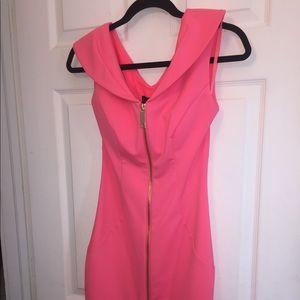 💯Orig. new Ted Baker dress. Pink knee high dress