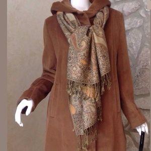 Jones New York  Angora/wool Blend Coat