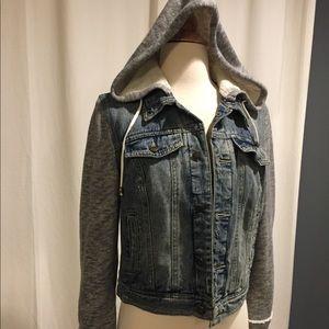 New free people denim jacket