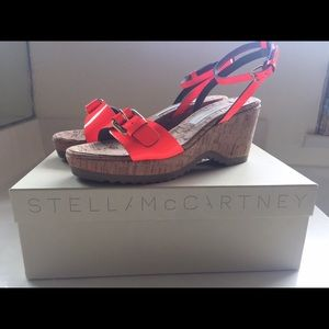 Stella McCartney Wedge Sandals 8