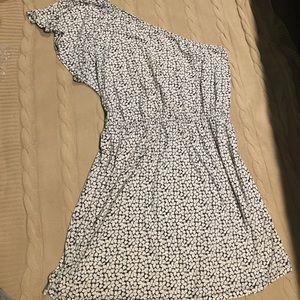 Old Navy one shoulder Floral dress size XXL