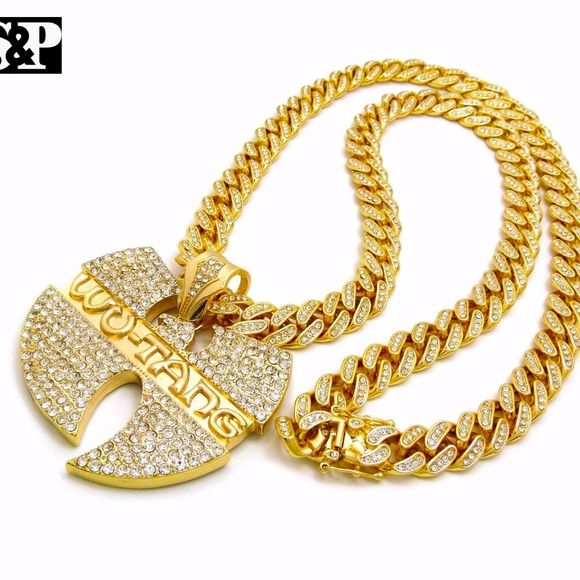 Accessories wu tang pendant 12mm30 iced out cuban chain poshmark m59c48899eaf030df0c018218 aloadofball Images