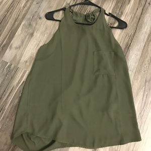 Forever 21 Olive Top