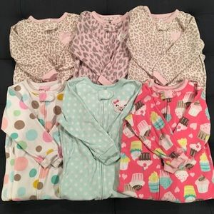 Carter's 6 Piece Winter Pajama Bundle