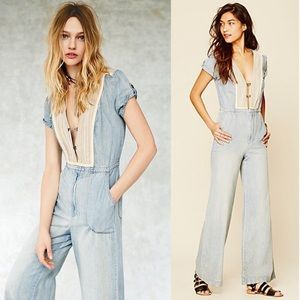 🌵Free People on the road jumpsuit