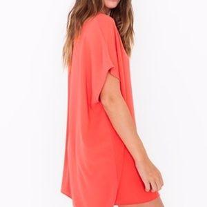American Apparel Dresses - American Apparel coral 'Adia' mini dress