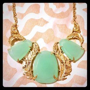 Kendra Scott Chalcedony Stone Necklace