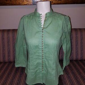 BCBGMAXAZRIA button down shirt