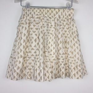 Club Monaco XS cotton skirt