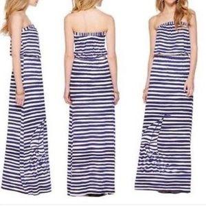 Lilly Pulitzer Nautical Maxi Dress- size S