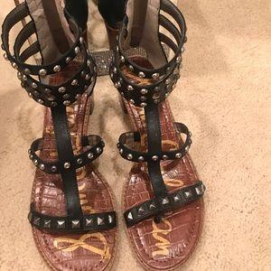 Sam Edelman black studded sandal