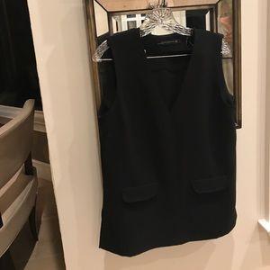 Zara blouse sleeveless