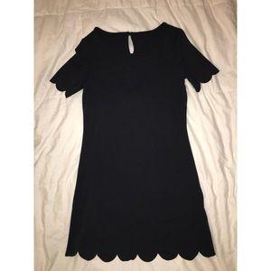 Black Mini T-shirt Dress
