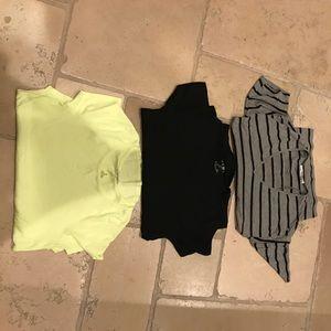 3 never worn Zara T shirts