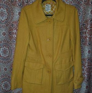 ANTHROPOLOGIE Tulle wool coat