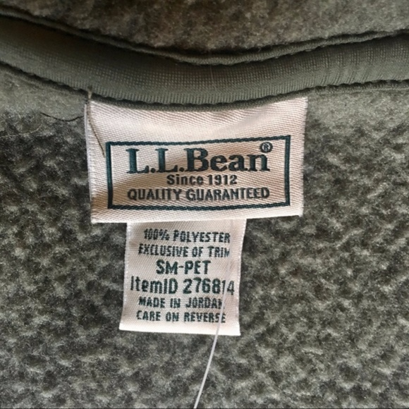 75% off L.L. Bean Jackets & Blazers - LL Bean Kingfield Fleece ...