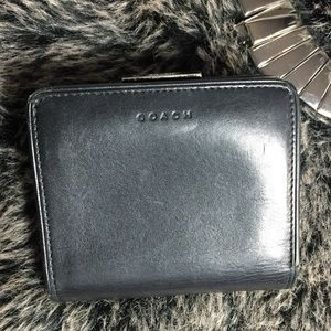 Authentic Coach, Leather Bifold Wallet