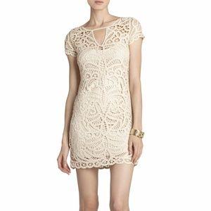 BCBG 'Lalinda' lace crochet dress