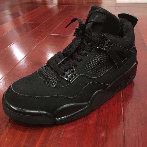 detailed look 42fe5 bb762 Air Jordan Other - Air Jordan 4 IV Retro Black Cat Size 9