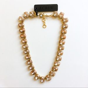 Jcrew shining crystal statement necklace
