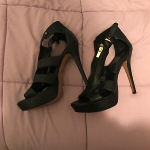 Worn only once. Black Jessica Simpson stilettos.