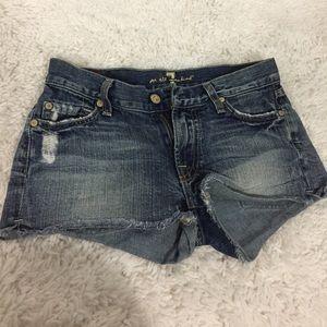 Seven7 Shorts Jeans Size 7